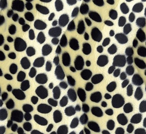 Decostoffen Dalmatiër velboa stof
