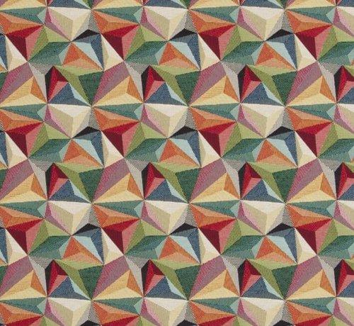 Multicolor diamand gobelin stof
