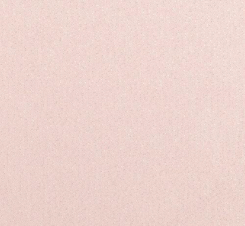 Decostoffen Peach linnenlook stof met gouden lurex draad