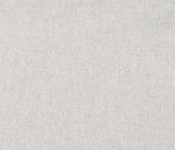 Decostoffen Basic licht grijze lurex linnenlook