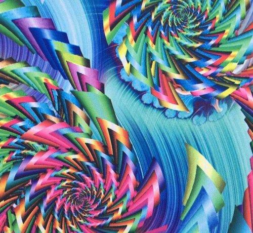 Decostoffen Felle kleuren blauw - terlenka