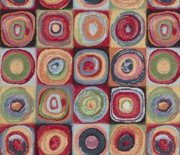 Multi color dots groot gobelin