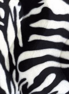 Zebraprint velboa
