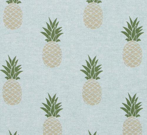Ananas ottoman print stof