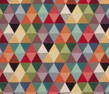 Multicolor driehoek groot gobelin