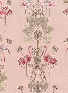 Flamingo jacquard