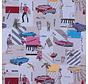 Cubaanse cultuur jacquard meubelstof