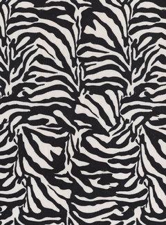 Zebraprint velvet digitale print