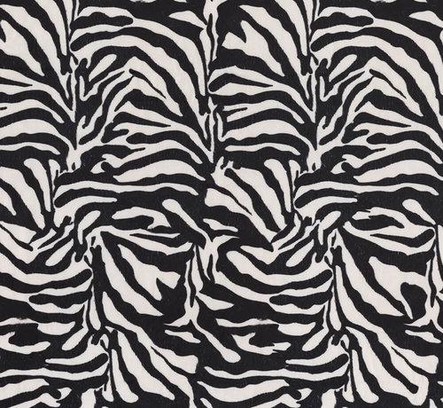 Decostoffen Zebraprint velvet digitale print stof