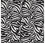 Zebraprint velvet digitale print stof