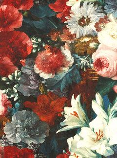 Bloemen & rozen velvet digitale print