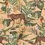 Jungle leopard beach velvet digitale print