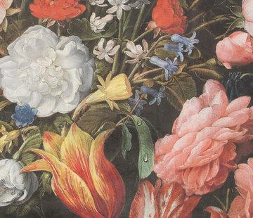 Bloemen & tulpen velvet digitale print