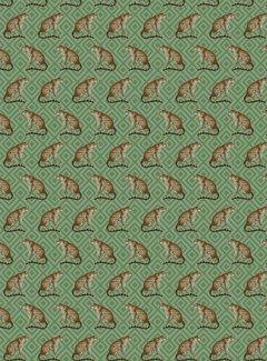 Decostoffen Luipaard jacquard