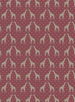Giraffe print jacquard