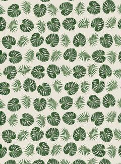 Palmbladeren jacquard