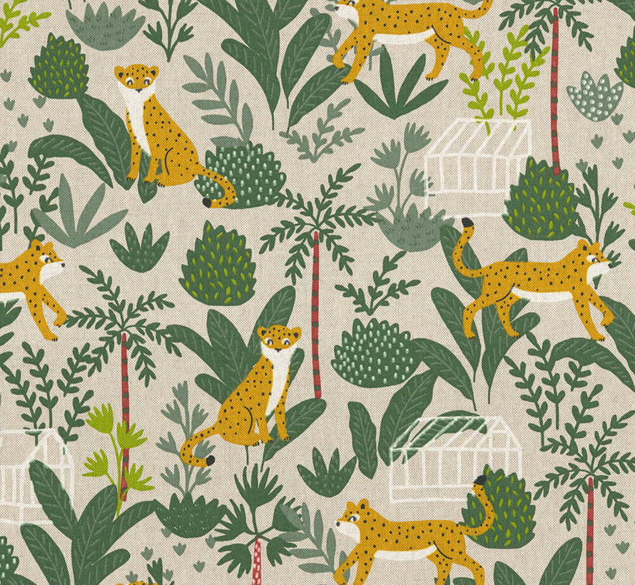 Jungle luipaard linnenlook