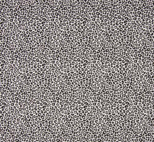 Decostoffen panterprint wit tricot