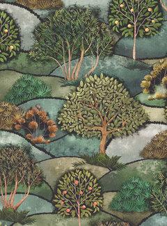 Decostoffen Landschap digitale print
