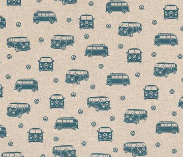 Decostoffen Volkswagen linnenlook