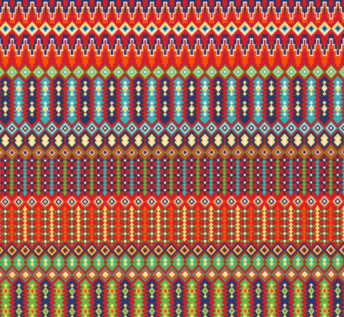 Decostoffen Grafisch ottoman