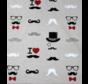 Snor print linnenlook