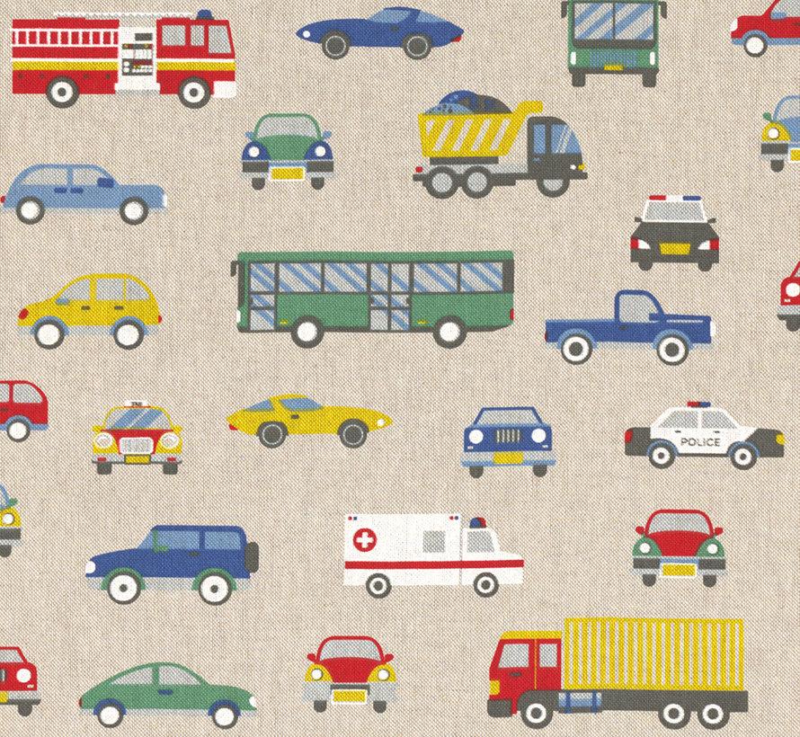 Autoweg linnenlook