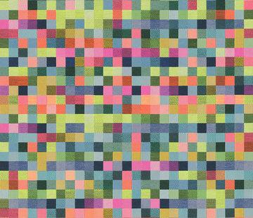 Decostoffen Pixels jacquard
