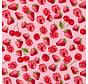 Aardbeien en kersen ottoman