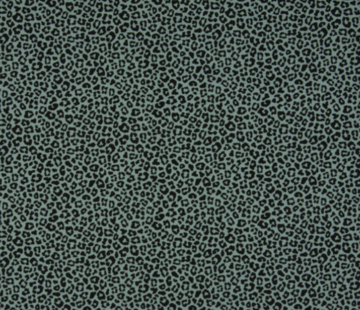 Decostoffen Mint groene panterprint tricot