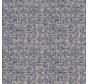 Indonesische blauwe rotan print op linnenlook stof