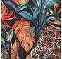Tropical leopard velvet deluxe