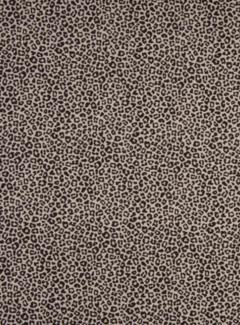 Decostoffen Roze panterprint poplin stof