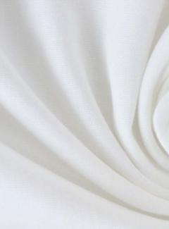 Decostoffen Witte katoenen poplin