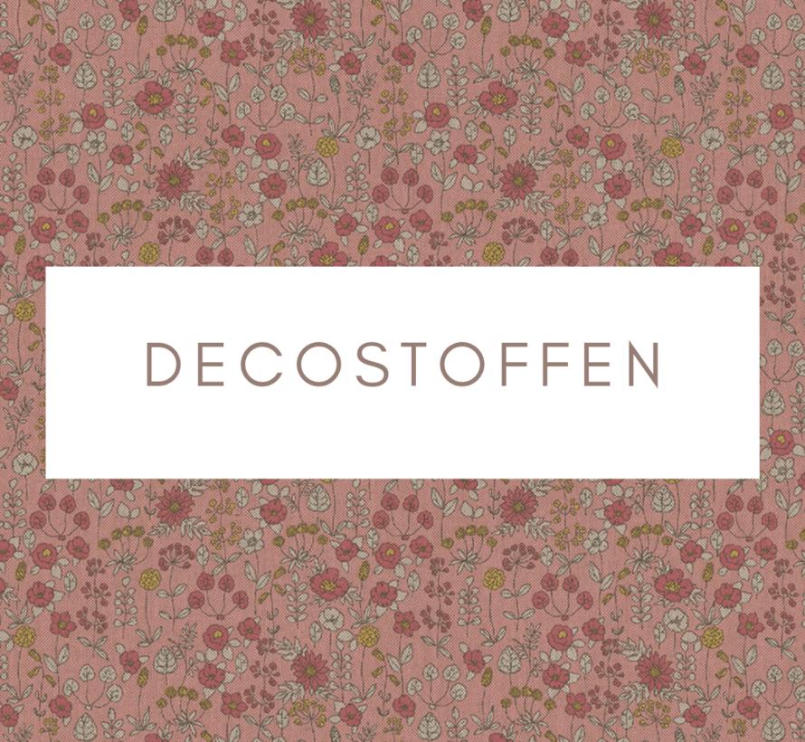 Bloemen roze linnenlook