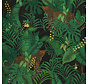 Jungle luipaard velvet digitale print