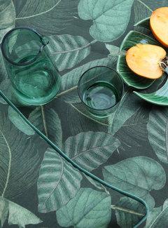 Decostoffen Groene bladeren - outdoor