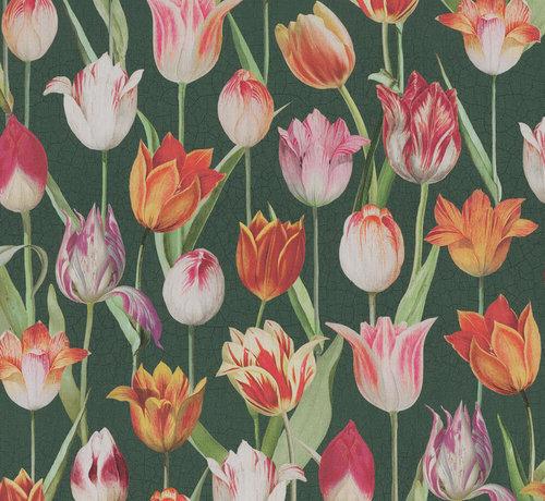 Decostoffen Tulpen - outdoor