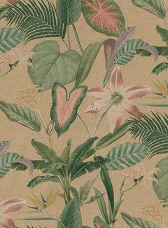 Decostoffen Botanisch beige - outdoor