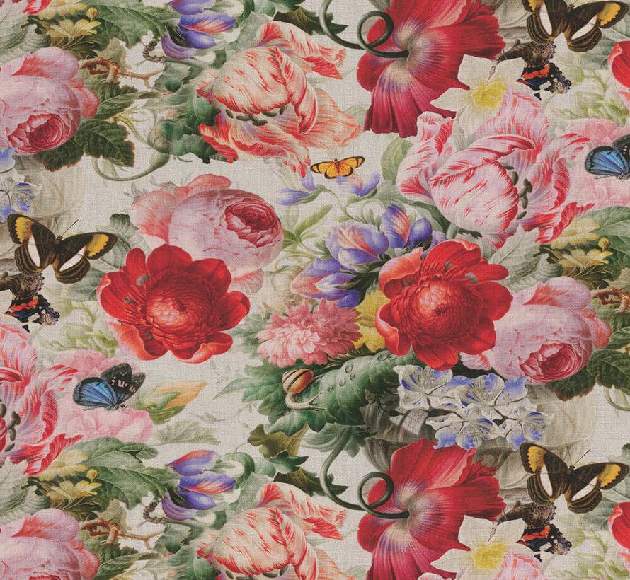 Rode en roze rozen - outdoor