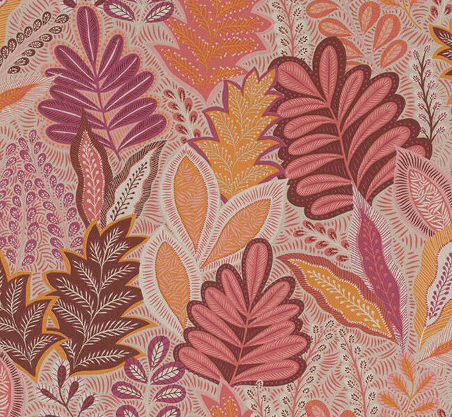 Botanisch roze linnenlook