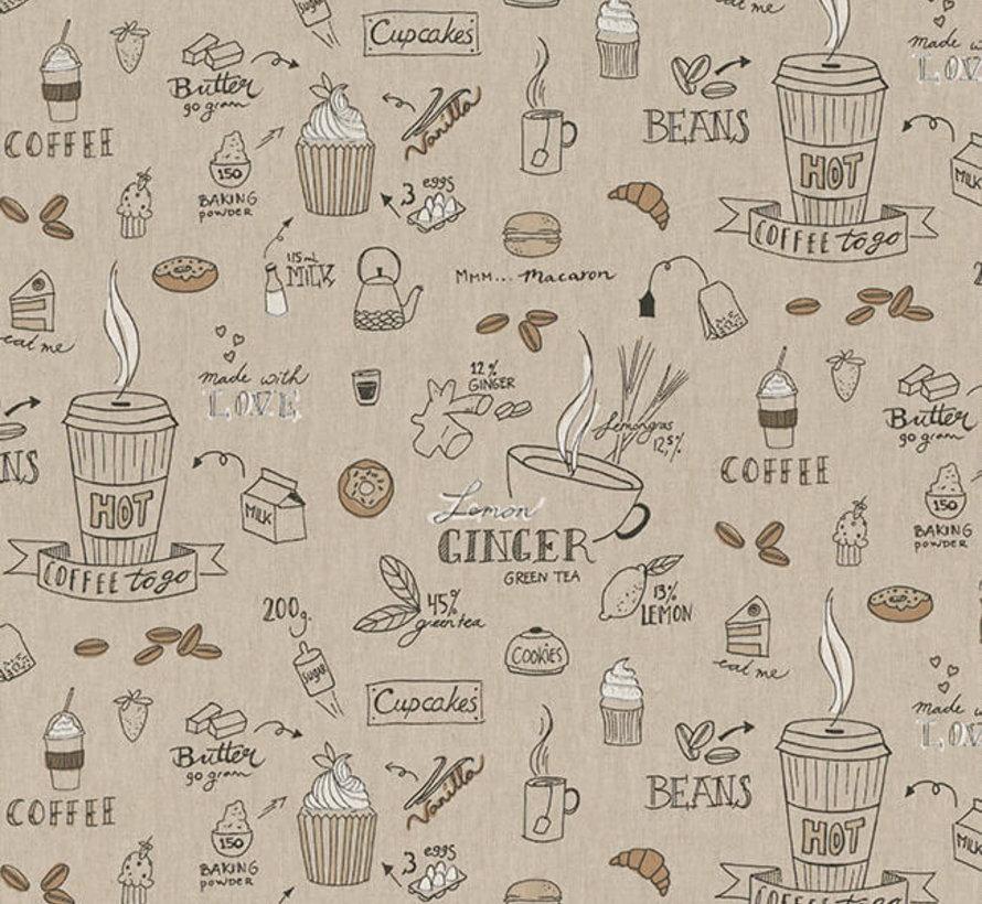 Koffie en thee linnenlook