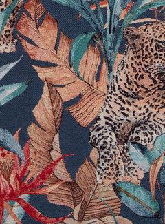 Decostoffen Leopard jungle gobelin