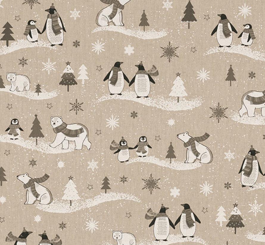 Pinguïns linnenlook