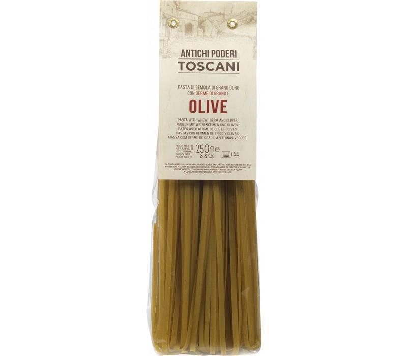 Pasta van volle granen - Fettuccine met Olijven (250g)