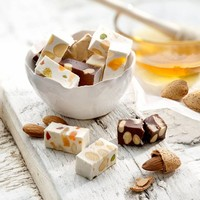 Belgische, handgemaakte zachte nougat met chocolade (100g)