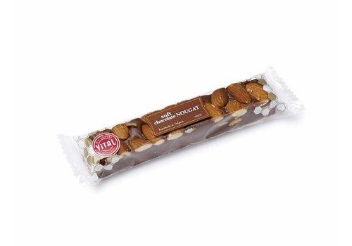 Vital Belgische nougat met chocolade (100g)