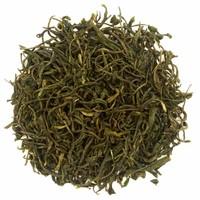 Cylinderdoos Mount Feather met losse groene thee BIO (75g)