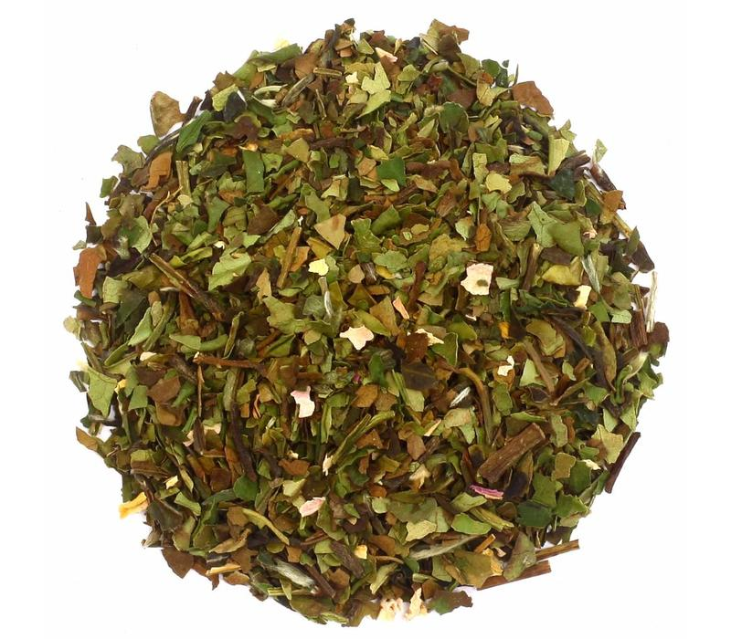 Zylinderpackung Lychee White Peony mit Losem weißem Tee BIO (50g)