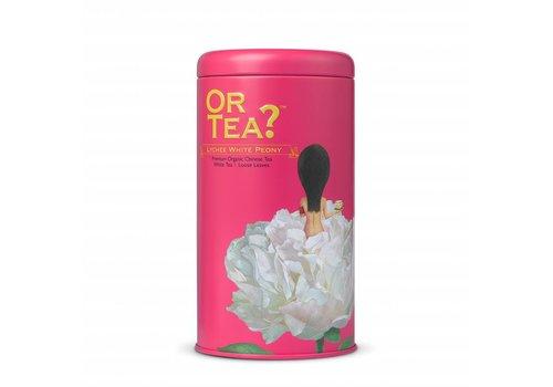Or Tea? Lychee White Peony cylinderdoos (50g)